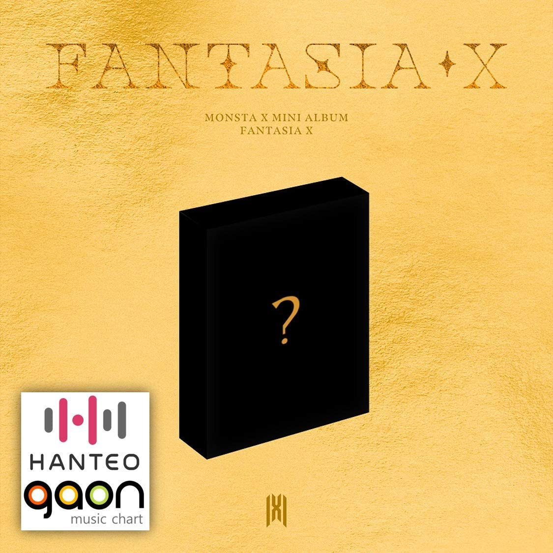 Monsta X - Fantasia X (Kit Album) [Pre Order] Album Package with Extra Decorative Sticker Set, Photocard Set