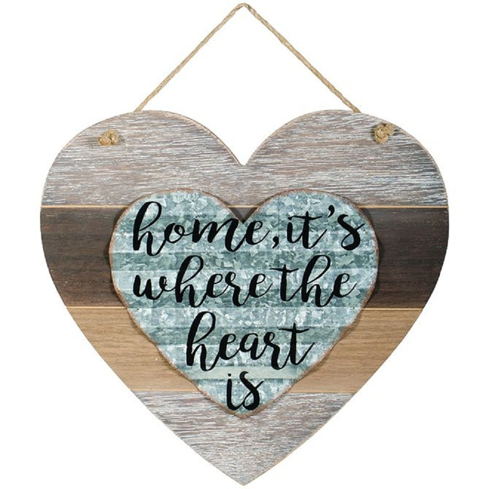 Carson Heart is Rustic Treasures Wall Home Decor
