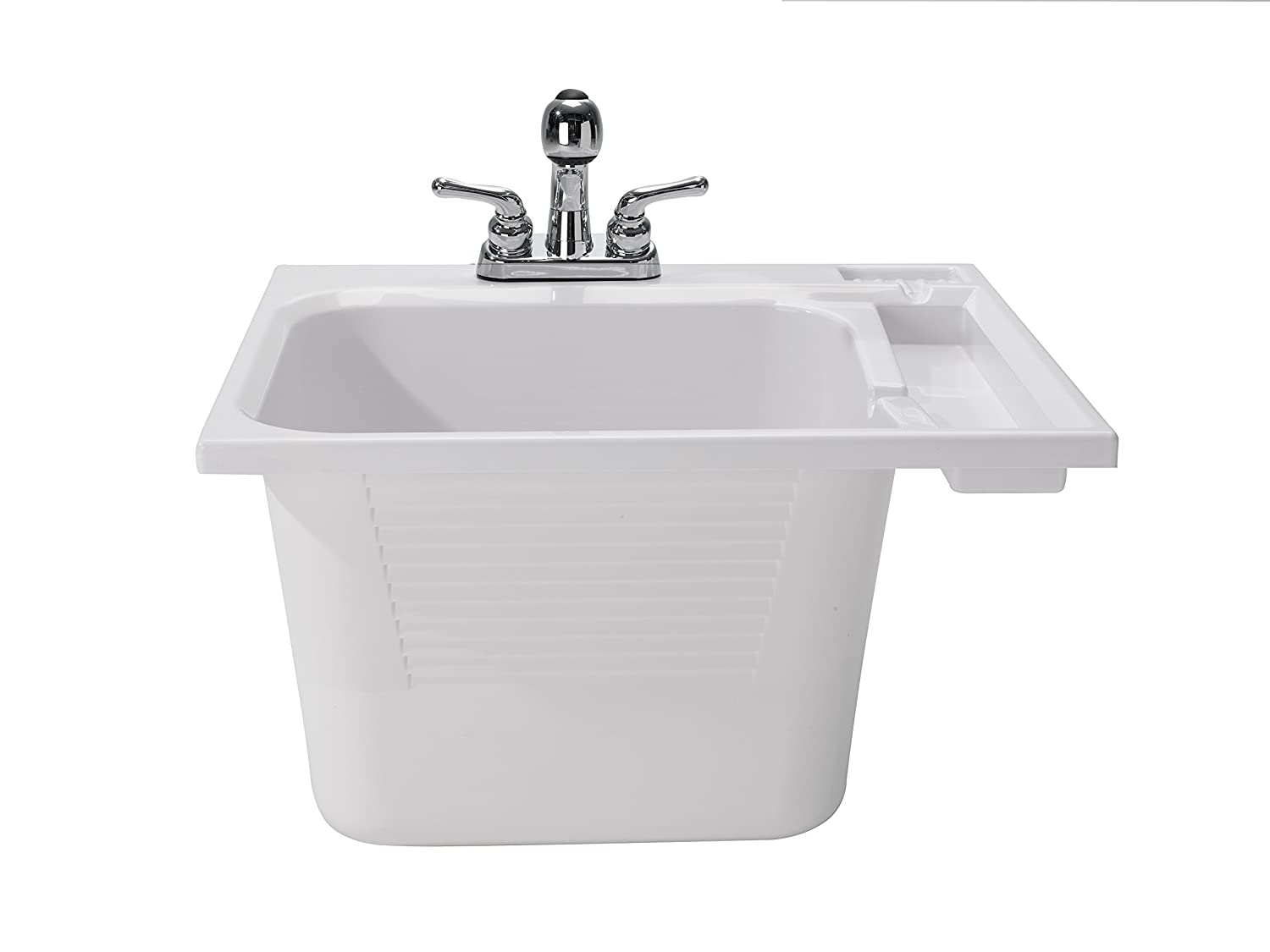 CASHEL Drop-In Sink - Fully Loaded Sink Kit, White, 1970-33-01