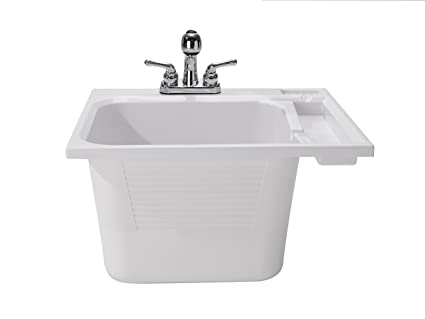 Drop In Laundry Room Sink.Cashel Drop In Utility Sink Kit