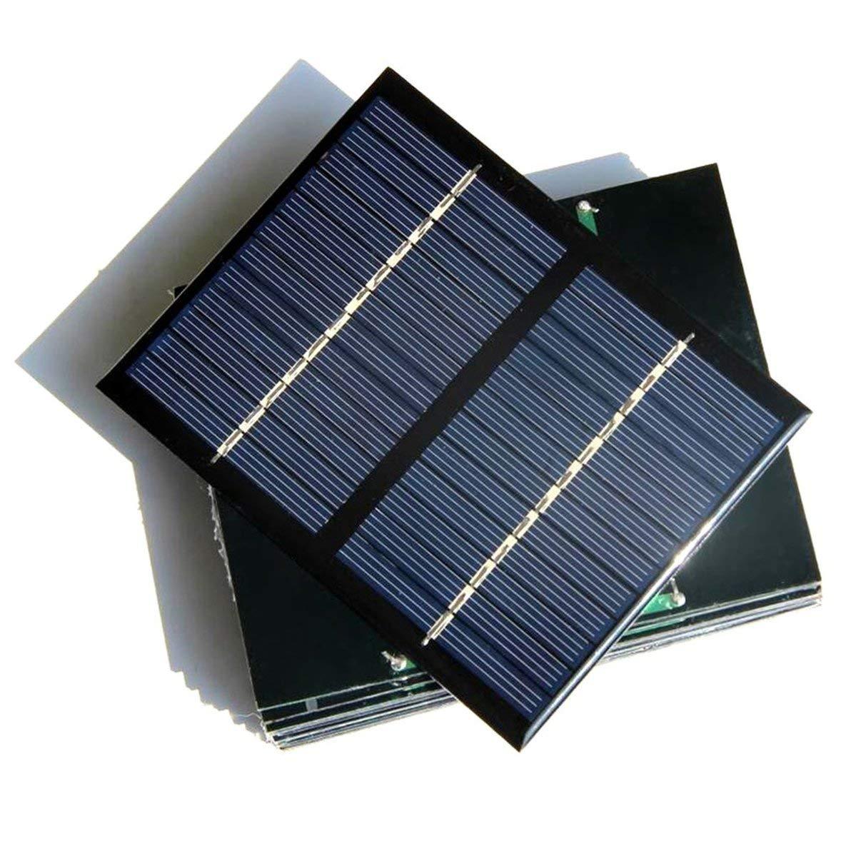 12V 1.5 W Panneau Solaire Universel Polycristallin Silicium Bricolage Batterie Puissance Module Module Petite Cellule Solaire