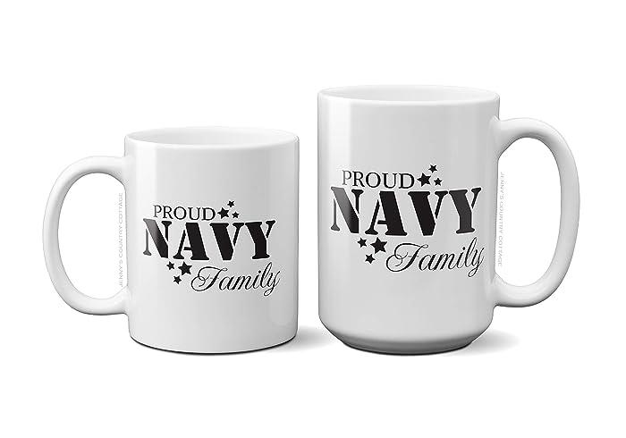 Amazon Proud Navy Family Coffee Tea MugBirthday Gift For