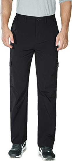 Nonwe Mens Outdoor Quick Drying Water Resistant Tactical Hiking Pants