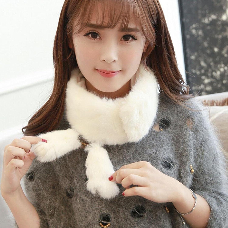 Womail HOT Selling Women Girls Winter Plush Ring Neck Keep Warm Scarves