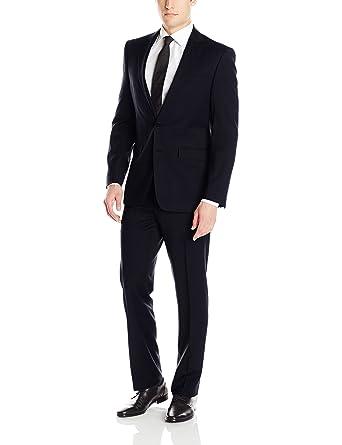 Calvin Klein Men\'s X-Fit Two-Piece Suit at Amazon Men\'s Clothing store: