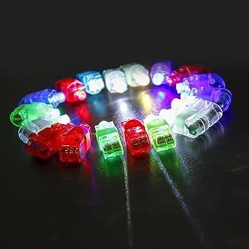 Buy Etekcity LED Finger Lights Lamps 80 pcs LED Party Laser