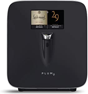 """Plum Wine Dispenser - Wine Preserver and Automatic Refrigeration System with Integrated 7"""" HD Touch Screen for One Touch Dispensing"""