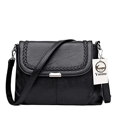 2ab841069f4e Yoome Large Capacity Shoulder Bags for Women Woven Bag Crossbody Purse  Elegant Bags For Charm -