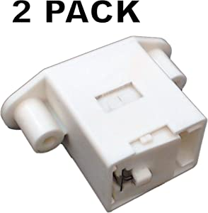 Seneca River Trading 2 Pk, Clothes Washer Door Latch for Frigidaire, AP4368805, PS2349356, 137006200