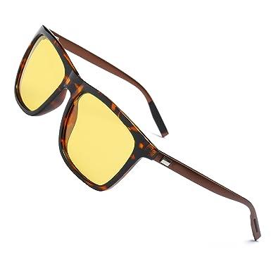 Hat Panda Night Vision Driving Glasses Polarized Headlight Anti-glare Driving Sunglasses For Men Women (B / Bernstein) HqMsv