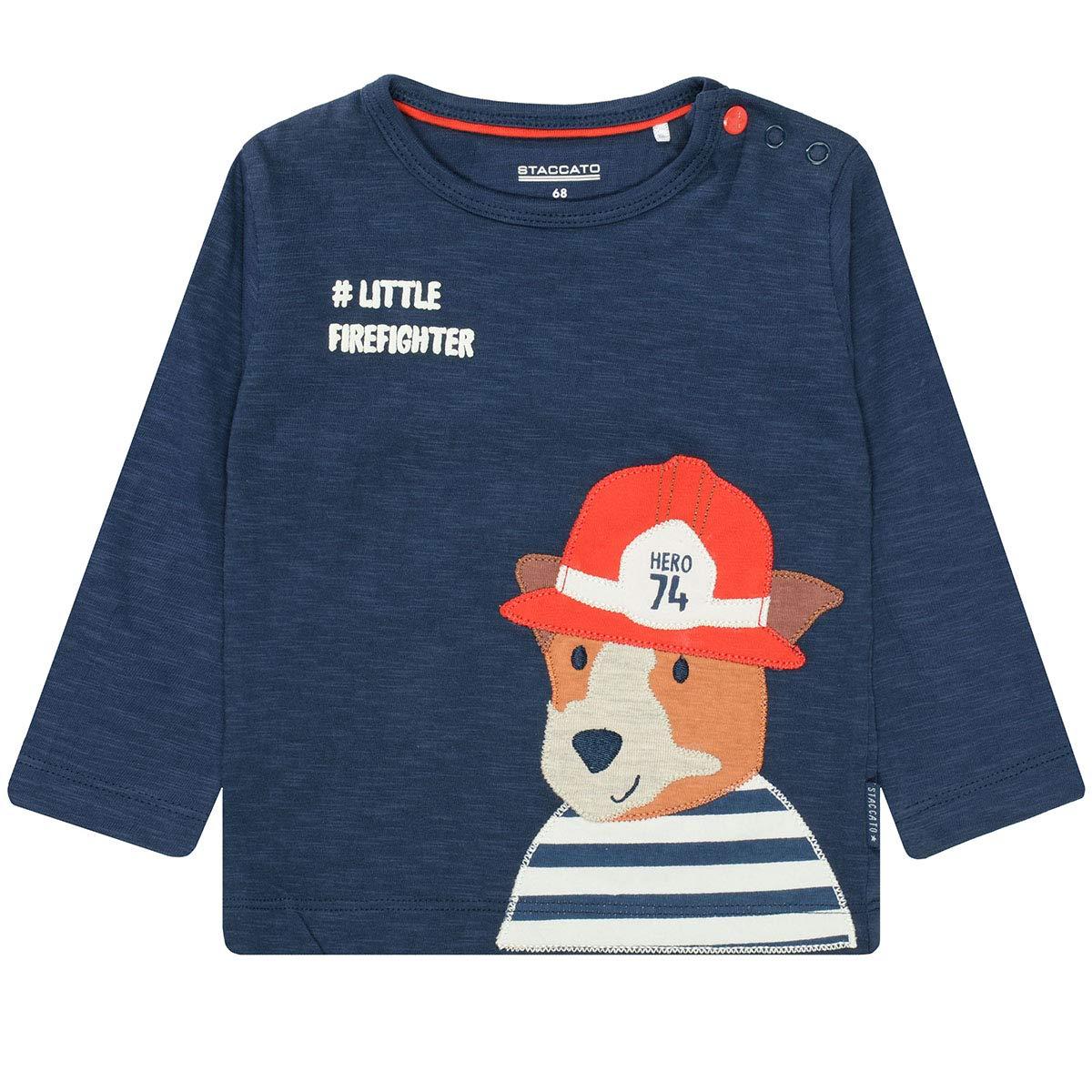 230070400 Staccato Jungen Shirt Firefighter Midnight