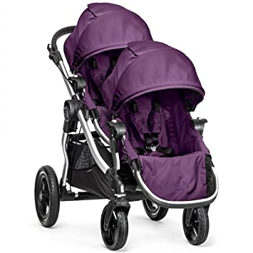 Baby Jogger 2014 City Select Stroller W 2nd Seat Amethyst