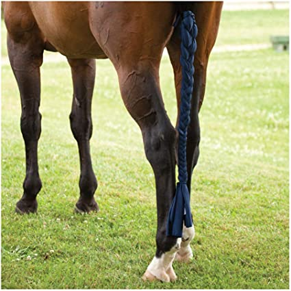 Royal Blue New Horse Tough-1  Fleece Lined Lycra Tail Bag