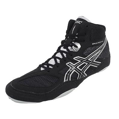 new style f5191 10c0b ASICS - Snapdown Noir Lutte - Chaussures de Lutte - Noir - Taille 42