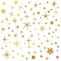 Easma Sparkle Decals Star Decals, Nursery Wall Decal, Kids Room Decor, Star Wall Decor, Sparkle Wall Art, Baby Room Star…