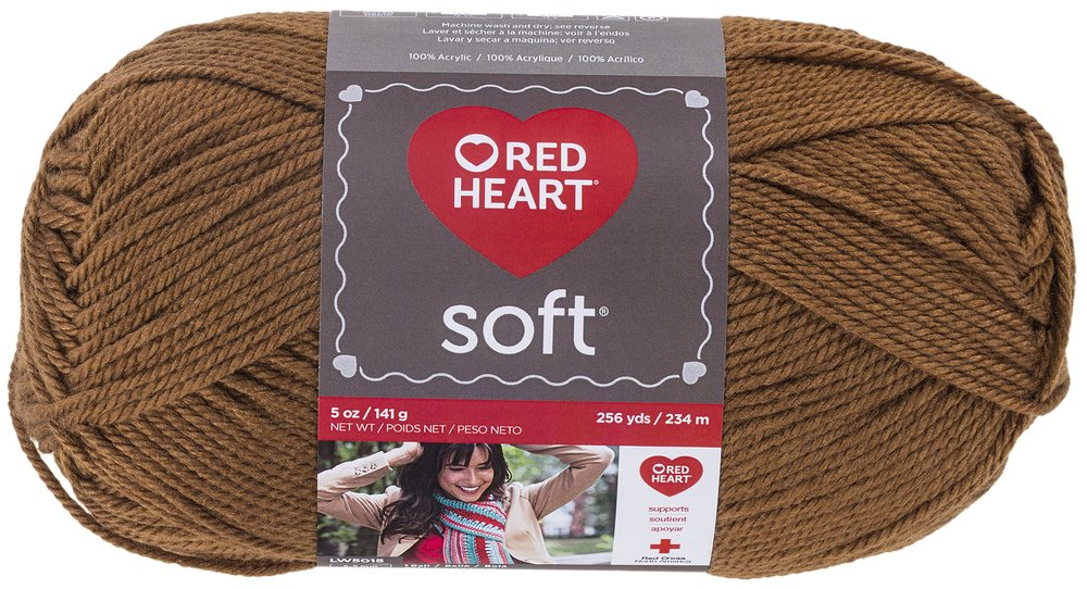 Red Heart E728.9779 Soft Yarn Berry