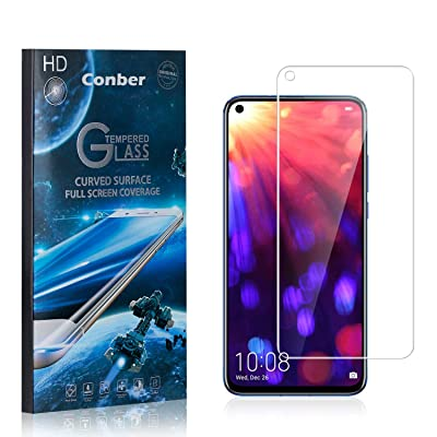 Conber (4 Pack) Screen Protector for Huawei Honor V20, [Scratch-Resistant][Anti-Shatter][Case Friendly] Premium Tempered Glass Screen Protector for Huawei Honor V20: Baby
