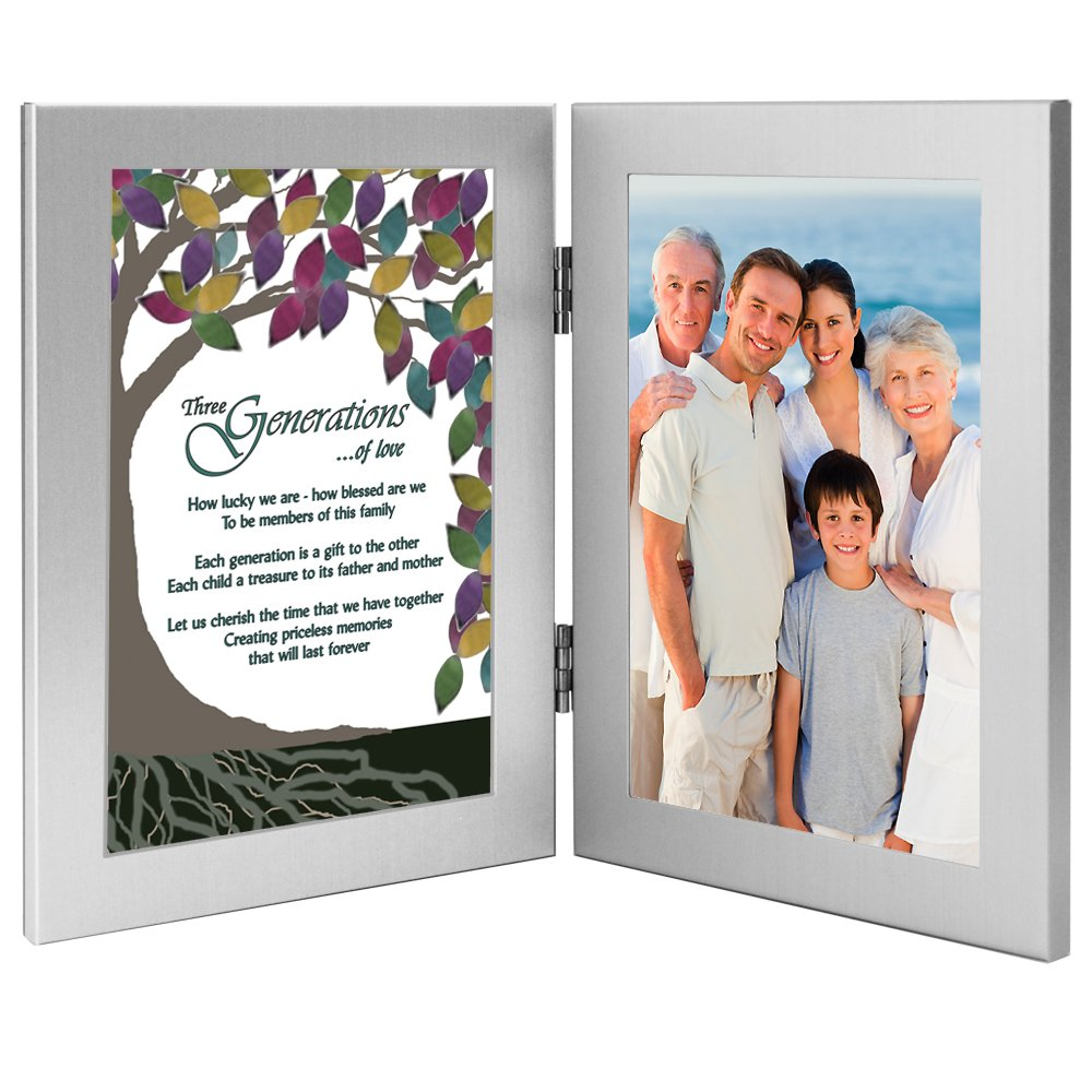 Amazon.com - Poetry Gifts Three Generations Picture Frame ...