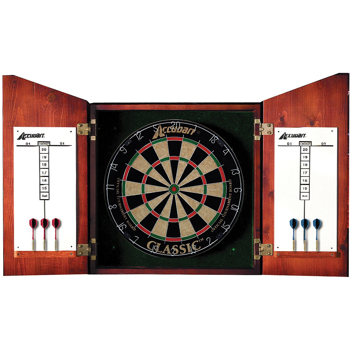 Amazon.com : Accudart Union Jack Dartboard Cabinet : Sports & Outdoors
