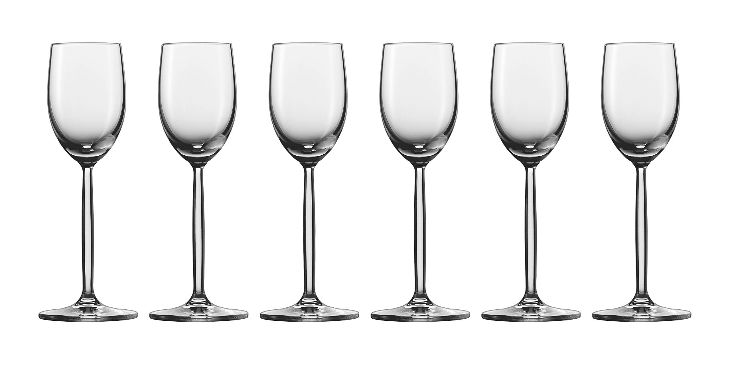 Set of 6 Schott Zwiesel Crystal 2.7 oz. Diva Liqueur Cordial Glasses by Fortessa by Fortessa