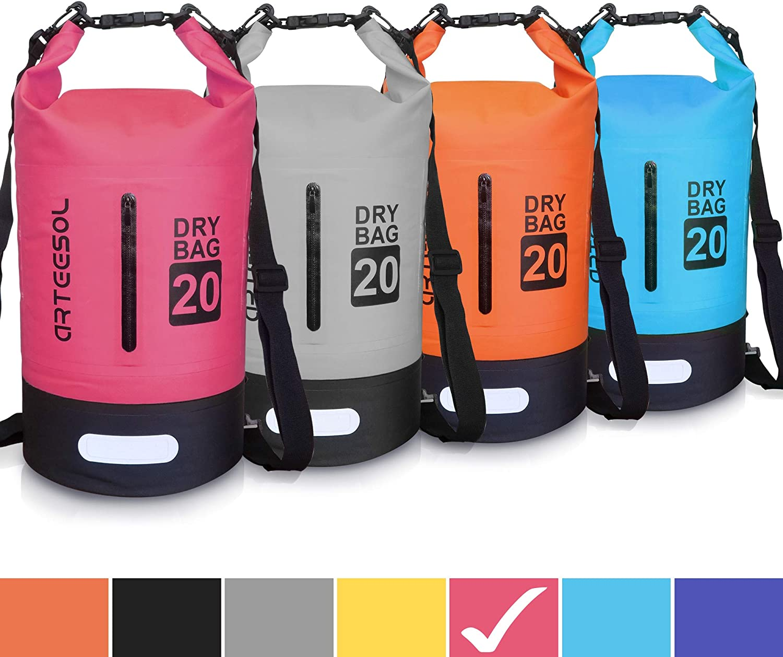 5L 10L 20L 30L WaterProof Dry Bag//Sack Waterproof Bag with Long Adjustable Strap for Kayaking Boat Tour Canoe//Fishing//Rafting//Swimming//Snowboarding Blackace Dry Bag