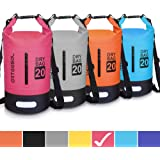 arteesol Dry Bag, 5L 10L 20L 30L Waterproof Dry Bag/Sack Waterproof Bag with Long Adjustable Strap for Kayaking Boat Tour Can