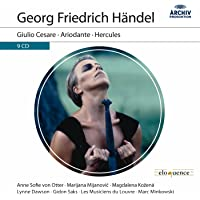 Handel Giulio Cesare Ariodante Hercules