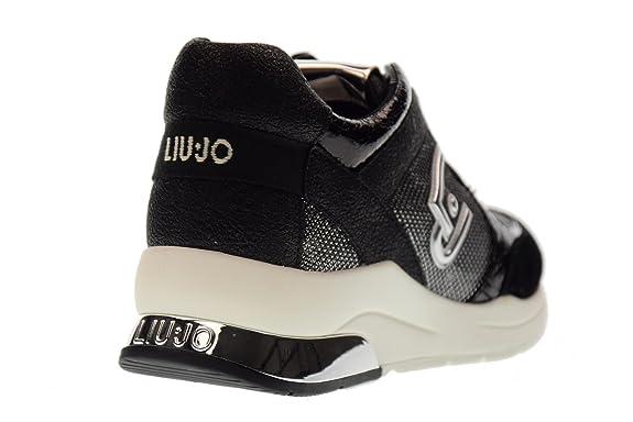 Liu Jo Chaussures FiveFingers Linda B18021T204401039 Taille 37 Noir/Argent 40LGp
