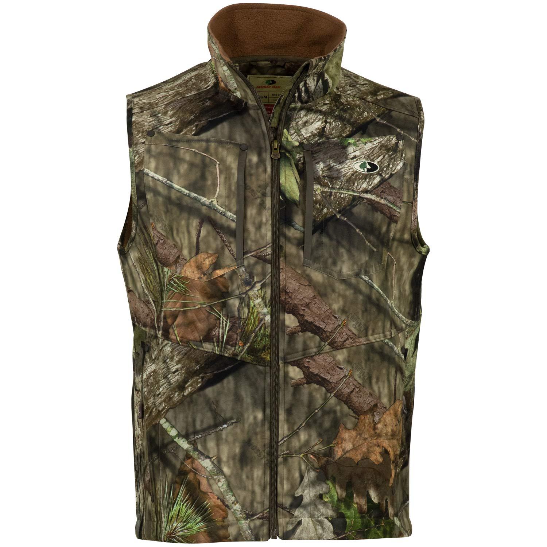 Mossy Oak Men's Camo Sherpa 2.0 Fleece Lined Hunting Vest, Break-Up Country, X-Large by Mossy Oak