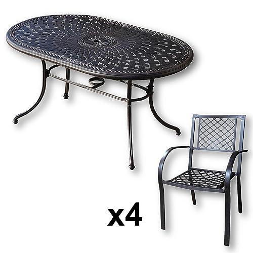 aluguss gartenm bel. Black Bedroom Furniture Sets. Home Design Ideas