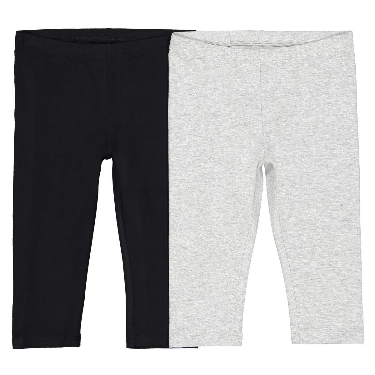 La Redoute Collections Big Girls Pack of 2 Plain Leggings 3-12 Years