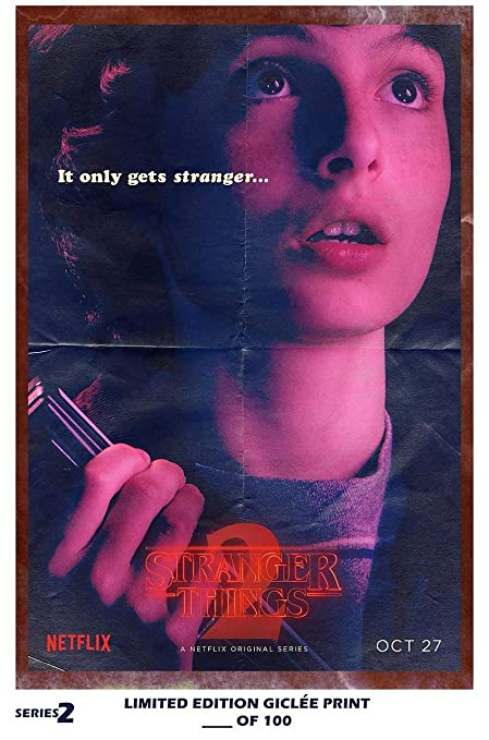 amazon com lost posters rare poster thick mike stranger things 2