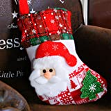 Leoie Christmas Stockings Decoration Stocking Candy Gift Bag Xmas Sock Tree Hanging Accessories Decoration Pendant Old Man