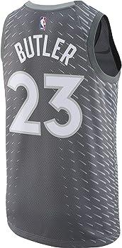 san francisco 3803c 26606 Amazon.com: Nike Jimmy Butler Minnesota Timberwolves Silver ...