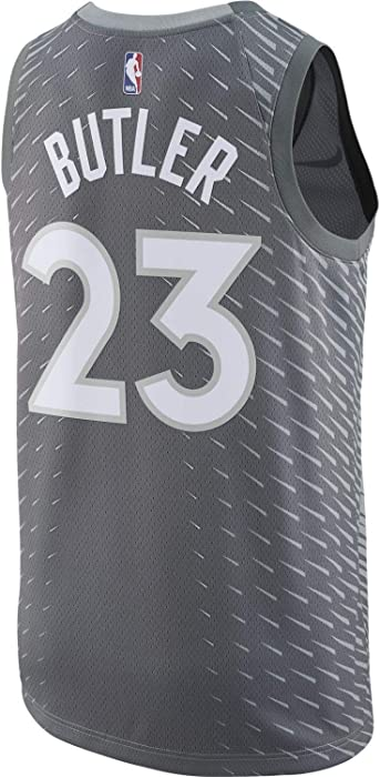 d63fb1539 Jimmy Butler Minnesota Timberwolves Silver Swingman City Edition Jersey -  Men s 2XL (XX-Large). Nike Jimmy Butler Minnesota Timberwolves Silver  Swingman ...