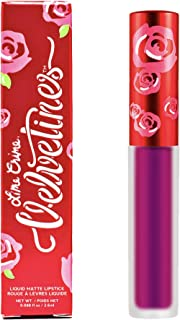 product image for Lime Crime Metallic Velvetines Liquid Matte Lipstick, Passionfruit - Metallic Fuchsia - French Vanilla Scent - Long-Lasting Liquid Metal Matte Lipstick - Won't Bleed or Transfer - Vegan