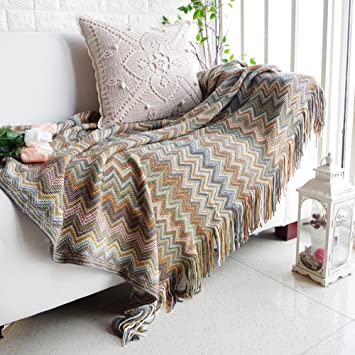 Lovehouse Algodón Punto Funda para sofá Tirar Cubre sofá ...
