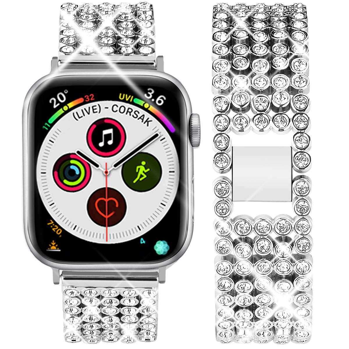 Malla Acero para Apple Watch (42/44mm) GOTON [7M63RYZJ]