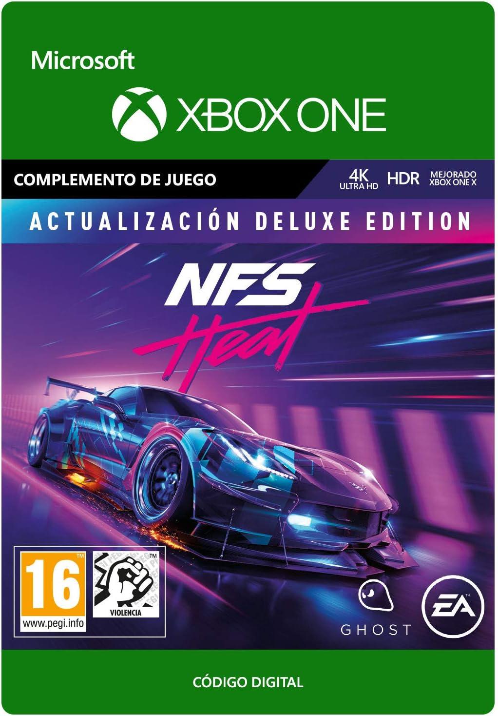 Need for Speed: Heat Deluxe Upgrade | Xbox One - Código de descarga: Amazon.es: Videojuegos