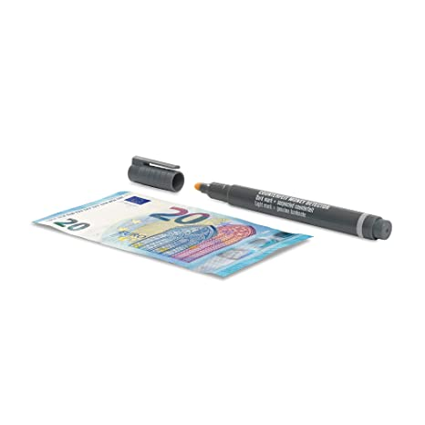 Safescan 30 - Bolígrafo detector de billetes falsos [1 paquete de 10 piezas]