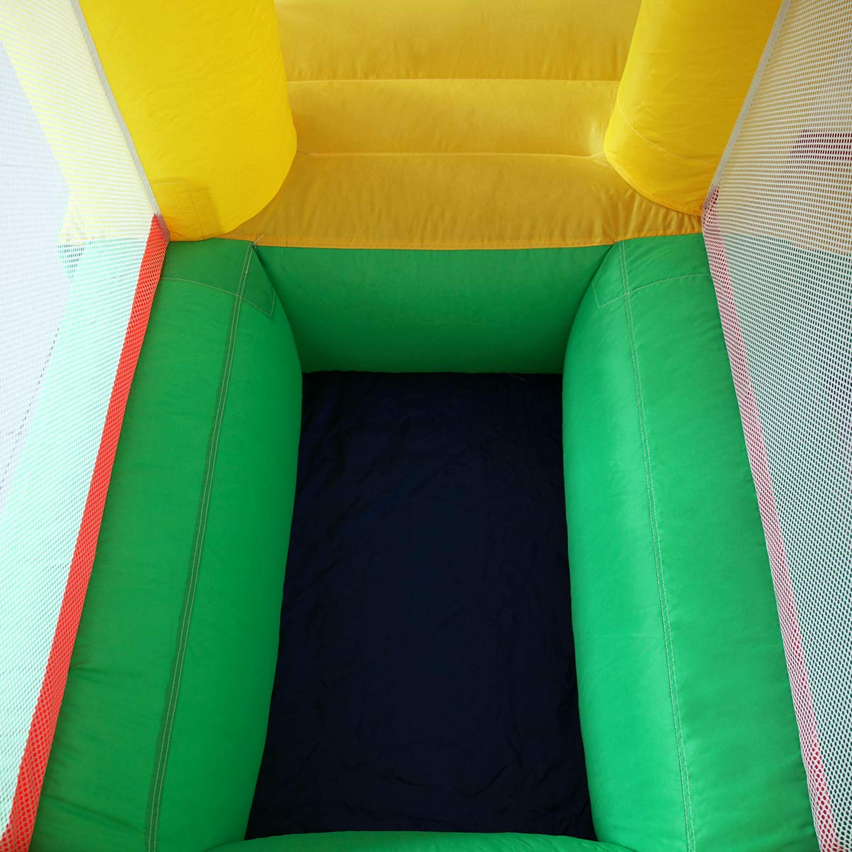 Kids Inflatable Bounce House Castle Jumper Slide Moonwalk Without Blower by BWM.Co (Image #6)