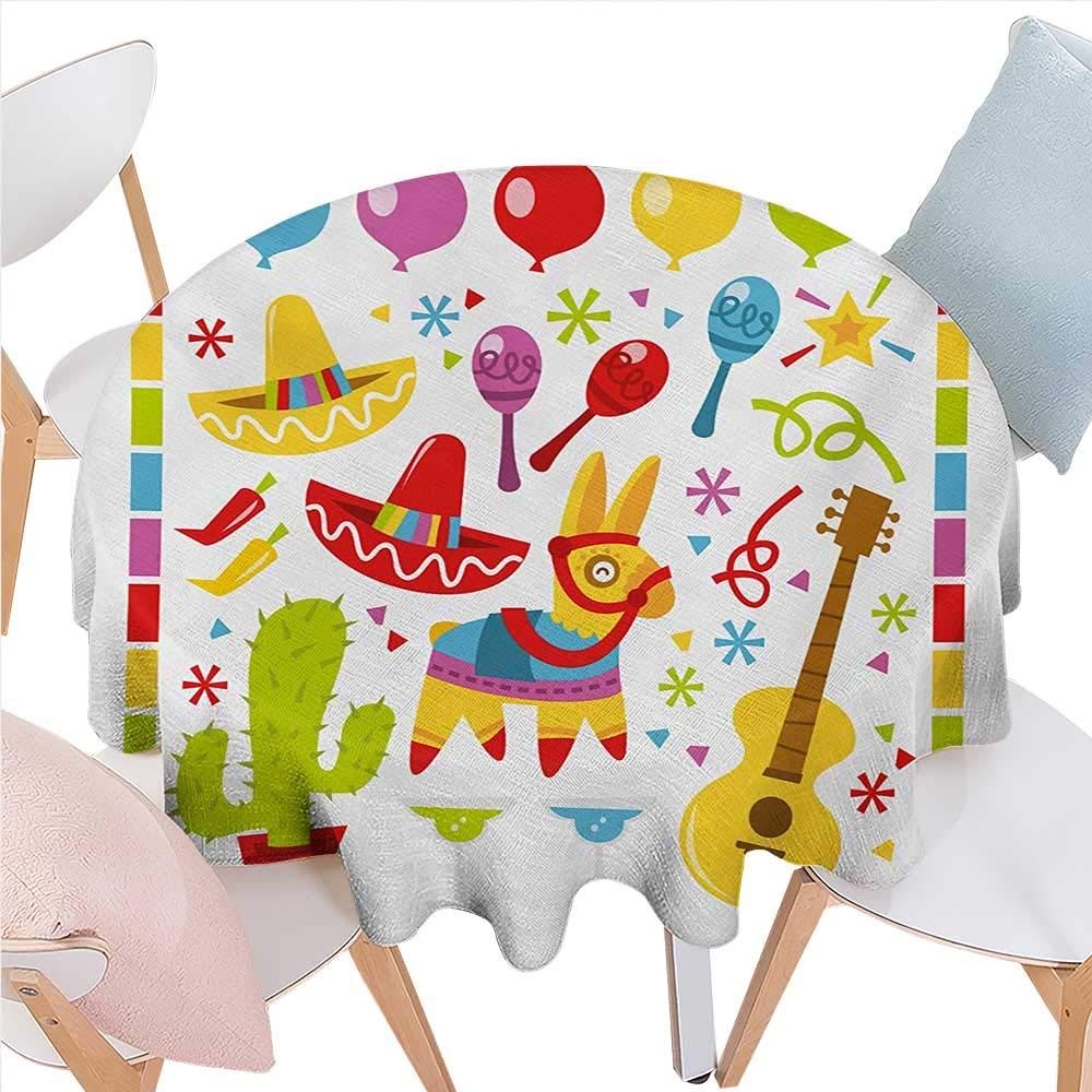 BlountDecor 羽 ディナー ピクニック テーブルクロス ふわふわフェザー フィギュア 対称タイル模様 色付きデザイン 防水 テーブルカバー キッチン 36インチx36インチ サーモン パープルグリーン D70