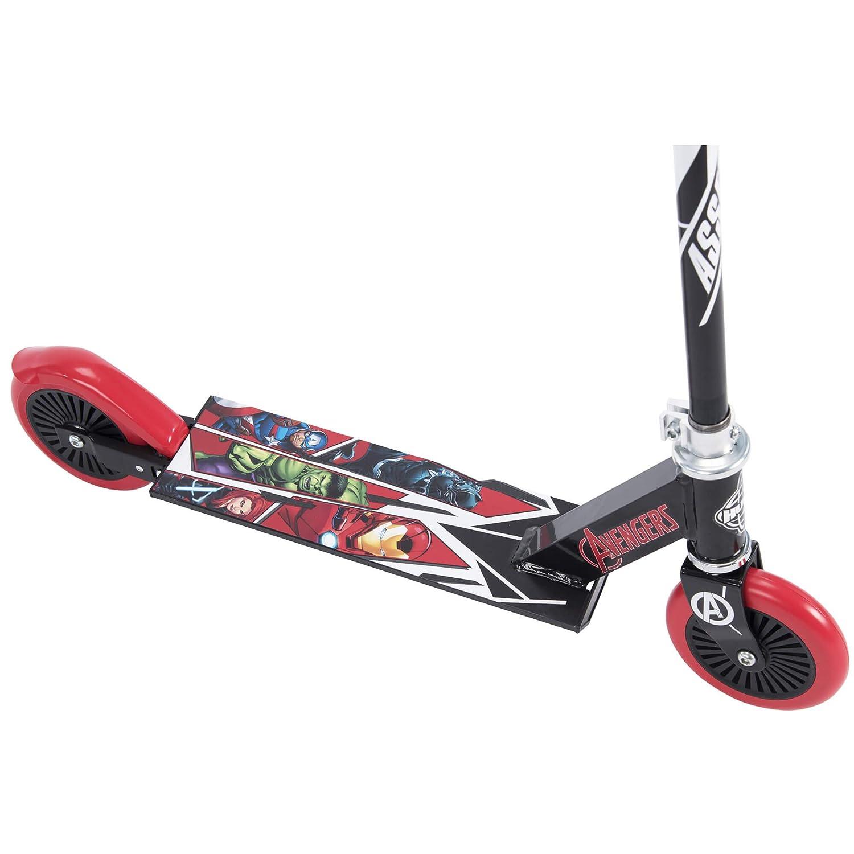 Amazon.com: Huffy Marvel Avengers Boys Inline Scooter ...