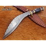 "Amazon.com: Custom made – 15"" Kukri Cuchillo de acero ..."