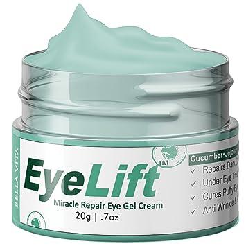 Amazon.com: Bella Vita - Crema de ojos orgánica para ojeras ...
