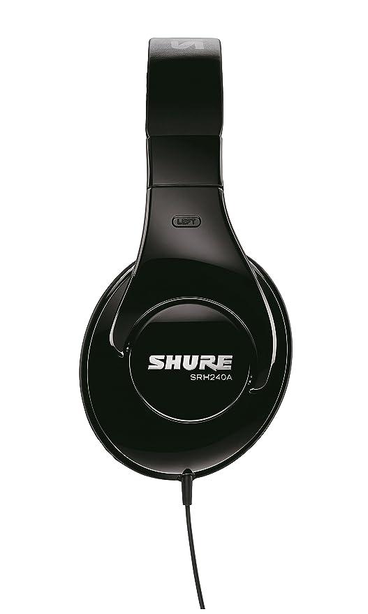 42aecf1debb Shure SRH240A Professional Quality Headphones (Black): Amazon.ca:  Electronics