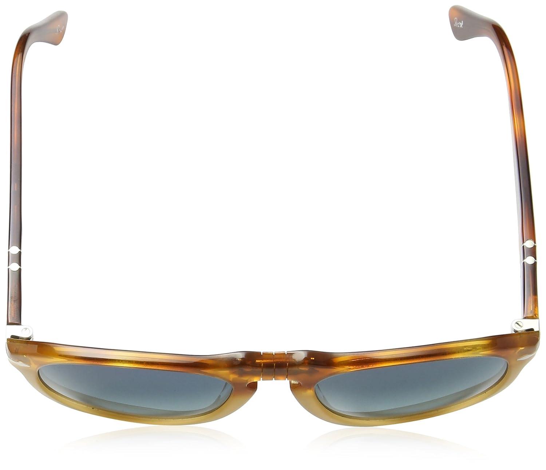 3c2146c998c Amazon.com  Persol PO649 Sunglasses 95 32 Shiny Black frame with Gray  Gradient lenses 54mm  Sports   Outdoors