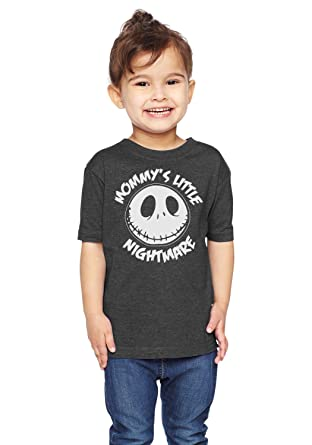b296f3351 Brain Juice Tees Mommys Little Nightmare The Nightmare Before Christmas  Unisex Toddler Shirt (2T,