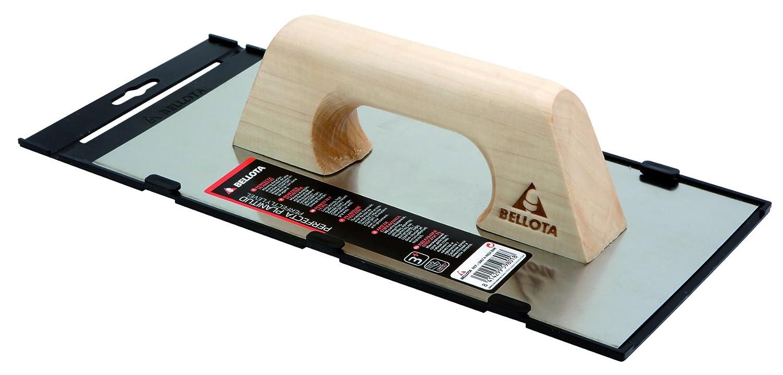 afilada con mango de madera Bellota 5861-1 A INOX 300x150mm Llana recta de acero inoxidable