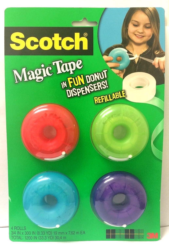scotch magic tape donut dispenser 3 4 x 300 inches 155 4 pack 80 off www ilvialerestaurant be restaurant il viale